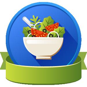 Salad badge