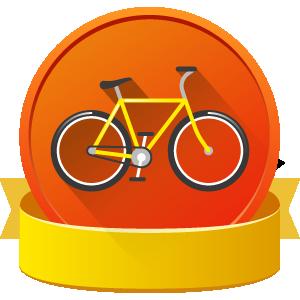 Bicycle badge