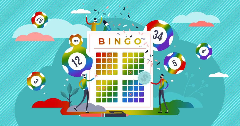 Pride Month Bingo Graphic