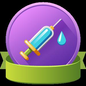 Coronavirus Vaccination Badge